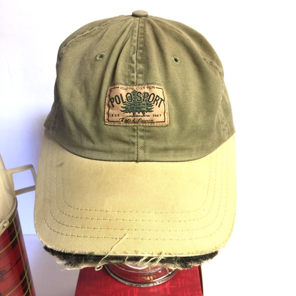 b8384968 Rare Ralph Lauren Polo Sport Vintage Baseball Cap.  M_5b4a0057bb7615518c423be0